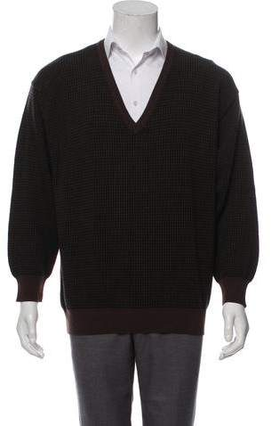 Barneys New York Barney's New York Wool & Cashmere Blend Sweater w/ Tags