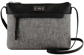 Cellini CSQ263 Natalie Zip Top Crossbody Bag