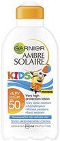 Garnier Ambre Solaire Kids Moisturising Milk SPF 50 - 1 x 200ml