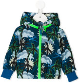 Stella McCartney tropical print rain jacket - kids - Cotton/Polyester - 12 mth