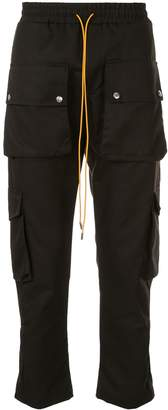 Rhude straight cargo pants