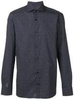 Z Zegna polka dot button-up shirt