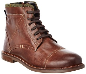 Ben Sherman Luke Cap Toe Leather Boot