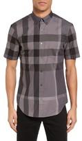 Burberry Men's 'Fred' Trim Fit Short Sleeve Sport Shirt