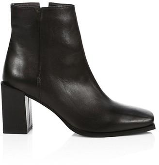 Aquatalia Emilee Leather Ankle Boots