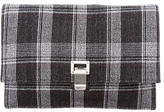 Proenza Schouler Plaid Lunch Bag Clutch