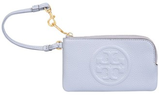 Tory Burch Perry Bombe Top-Zip Card Case