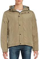 Cole Haan Long Sleeve Hooded Jacket
