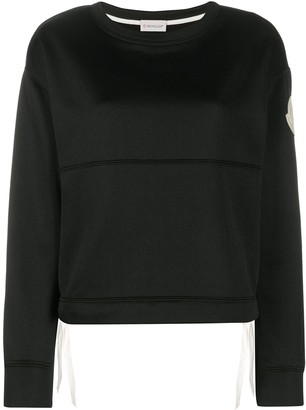 Moncler Side Tie Sweatshirt