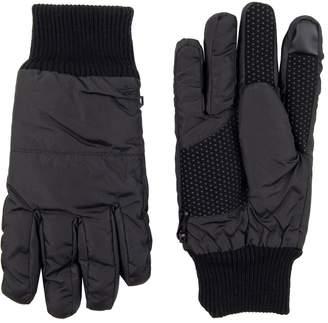 Dockers Men's InteliTouch Knit Cuff Gloves