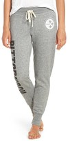 Junk Food Clothing Women's 'Pittsburgh Steelers' Cotton Blend Sweatpants