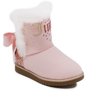 Juicy Couture Big Girls Cozy Boots