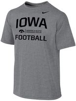 Nike Boys 8-20 Iowa Hawkeyes Legend Lift Dri-FIT Tee