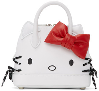 Balenciaga White Hello Kitty Top Handle Bag
