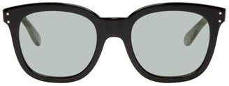 Gucci Black and Green Square Sunglasses