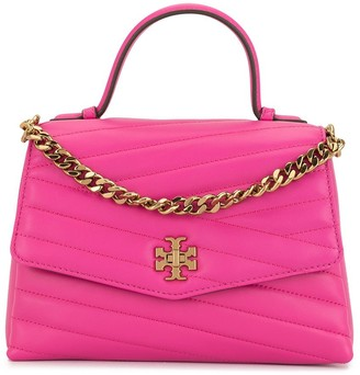Tory Burch Kira chevron-quilting satchel