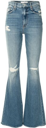 Mother Super Cruiser high-rise flared jeans