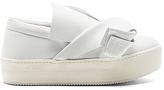 No.21 No. 21 Platform Sneaker in White. - size 41 (also in )