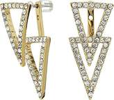 Vince Camuto Women's Triangle Front Back Earrings