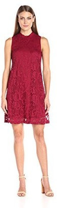 Tiana B T I A N A B. Women's Floral Lace A-Line Dress Sleeveless