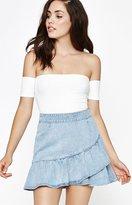 PacSun Asymmetrical Ruffle Skirt