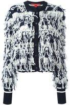 Tommy Hilfiger loop knit striped cardigan