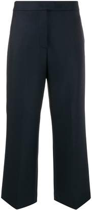 Pt01 high rise cropped trousers