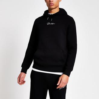 River Island Prolific black slim fit hoodie