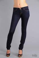 "J Brand 12"" Lowrise Pencil Leg Jeans - 912 in Ink"