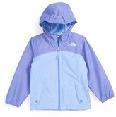 The North Face Toddler Girl's 'Warm Storm' Hooded Waterproof Jacket