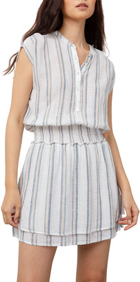 Rails Angelina Striped Short-Sleeve Dress