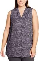 Zizzi Women's O10562B Blouse