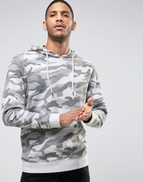 ONLY & SONS Hoodie With Drop Shoulder in Camo