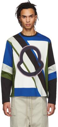 MONCLER GENIUS 5 Moncler Craig Green Multicolor Logo Long Sleeve T-Shirt