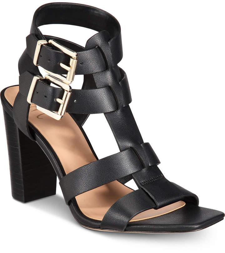 INC International Concepts I.n.c. Women Parkar Buckle Dress Sandals, Women Shoes