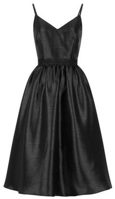 Dorothy Perkins Womens Little Mistress Black Glitter Prom Dress, Black