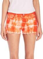 J Brand Women's Low-Rise Photo Ready Tie-Dye Cut-Off Shorts