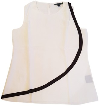 Lauren Ralph Lauren White Silk Top for Women