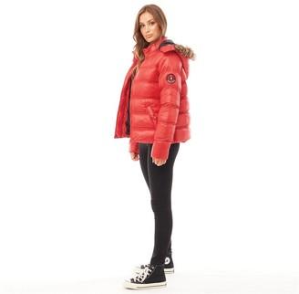 Brave Soul Womens Hopshine Jacket Red