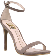 Fahrenheit Taupe Lilith Ankle-Strap Sandal