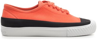 Stone Island Contrast Low-Top Sneakers