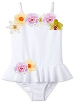 Stella Cove Toddler Girl's 3D Floral One-Piece Swimsuit