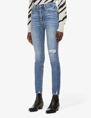 Pistola Denim Cara high-rise slim-fit stretch-denim jeans