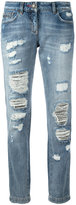 Philipp Plein distressed jeans - women - Cotton - 26