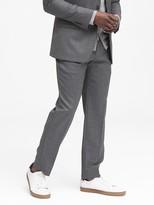 Banana Republic Standard Italian Wool Sharkskin Suit Pant