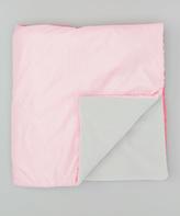 Pink Water-Resistant Stroller Blanket
