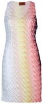 Missoni textured knit sleeveless dress