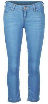 School Rag PART COURT COMF women's Cropped trousers in Blue