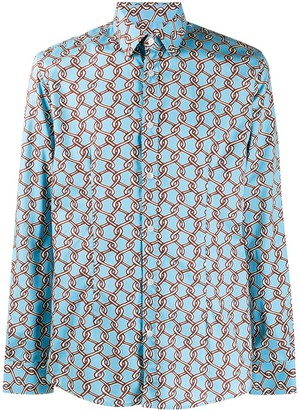 Daniele Alessandrini Chain Fence Dress Shirt