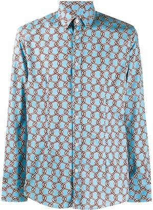 Daniele Alessandrini Chain Fence Dress Shirt